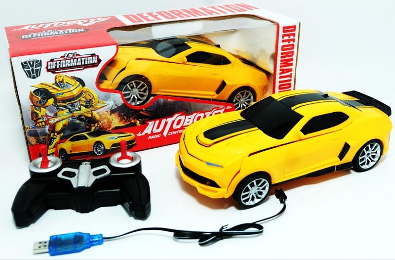 Jual Mainan Mobil Rc Autobots Reformations Kingtoys Tokopedia