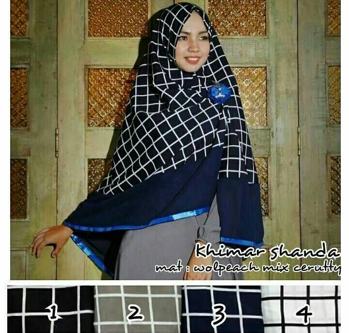 Khimar Shanda / Hijab / Jilbab / Kerudung