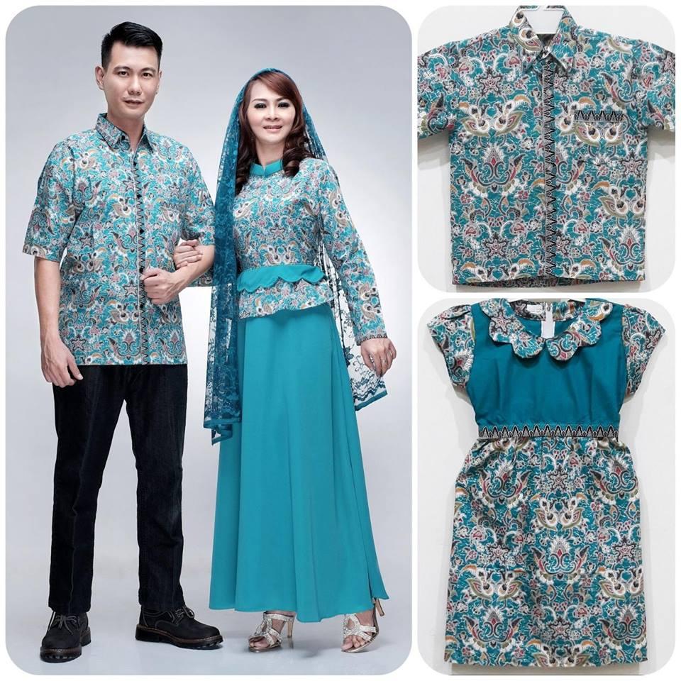 Jual Couple Batik Keluarga Sarimbit Family Baju Pesta