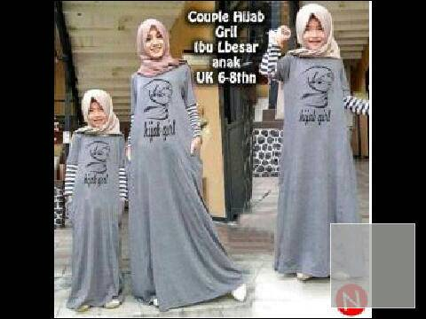 couple girl hijab mom n kid
