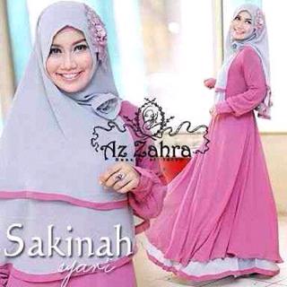 sakinah hijab syari ( gamis & hijab bergo )