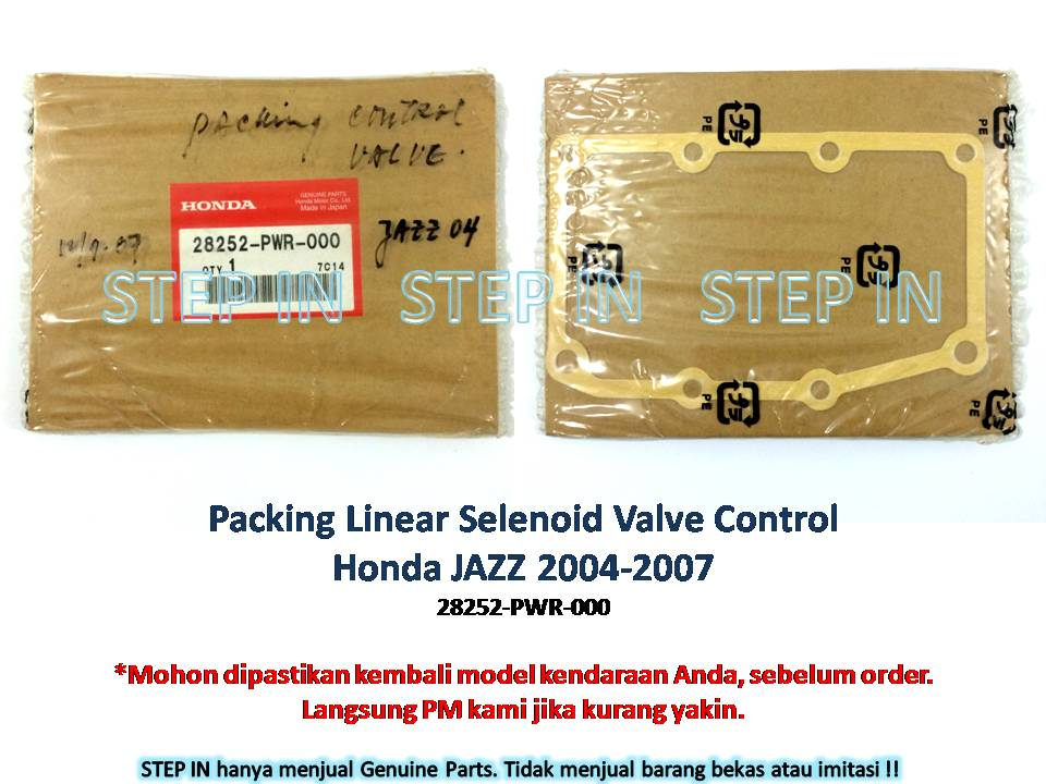 28252-PWR-000 Honda Jazz 2004-2007 Packing Linear Solenoid Asli Baru
