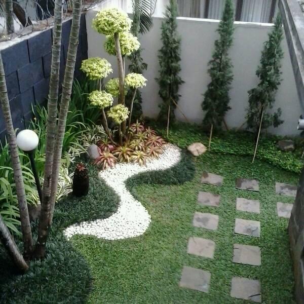 jual jasa tukang taman minimalis dekorasi taman rizki