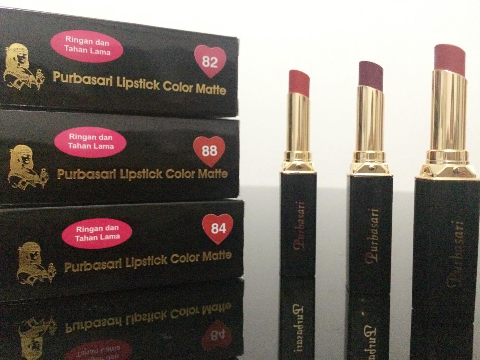 Purbasari Lipstick Collor Matte 86 Page 2 Daftar Update Harga Color Jual