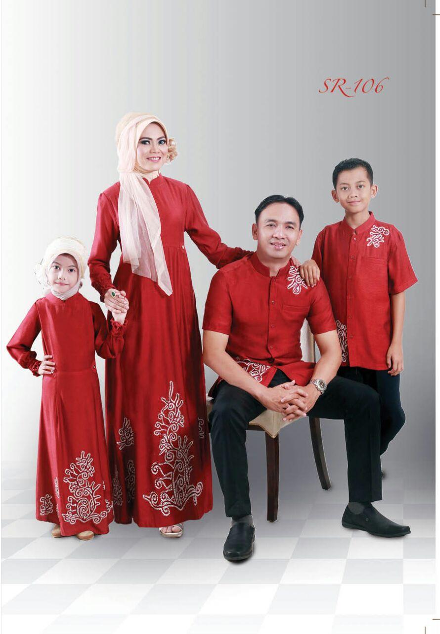 Almadani SR 106 - Sarimbit Keluarga - Jual Hijab & Baju Keluarga Ori