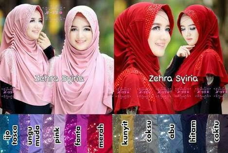 jilbab syiria zehra / hijab / kerudung / bergo / khimar
