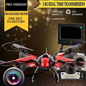 SKY Hawkeye HM1315S (headless) 5.8G FPV RC Quadcopter With Real-time
