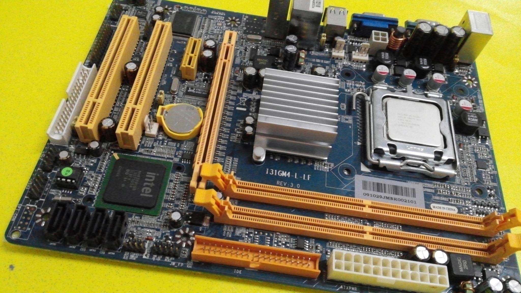 Driver for Jetway I31GM4-L Intel Chipset