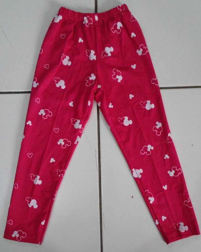 CLKD22 - Celana Legging Anak Mickey Pinkfanta Murah