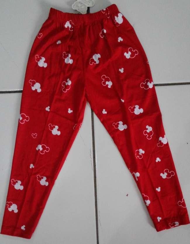 CLKD21 - Celana Legging Anak Mickey Red Murah