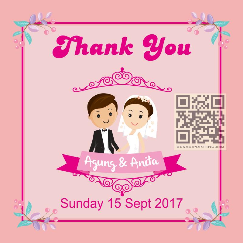 Kartu ucapan untuk wedding