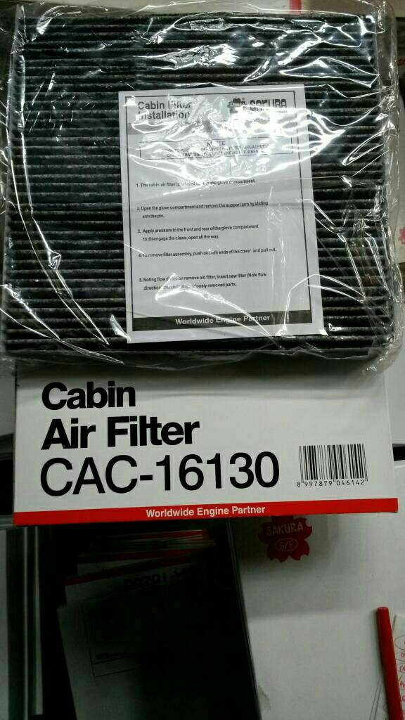 Filter Ac/cabin Honda BRV, HRV, Mobilio, Brio, New Jazz, city,Freed