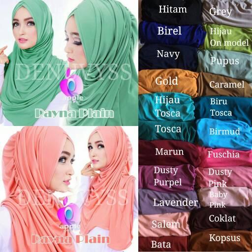 Hijab Instan Rayna Plain murah