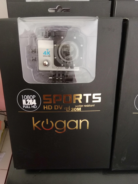 Tempat Jual Kogan 4k Nv Action Camera Putih 16 Mp Ultrahd Wifi Paket Plus 16mp Harga