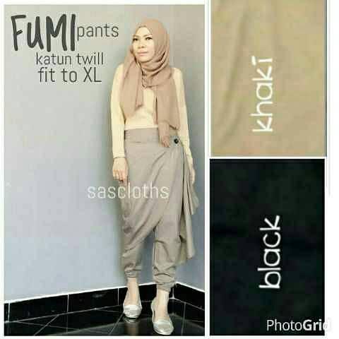 baju hijab HOTD fumi tunik LH