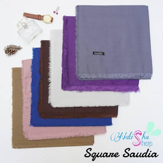 square saudia jilbab hijab segiempat rawis grosir