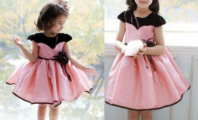 CMR-dress olivie kids / SETELAN ANAK