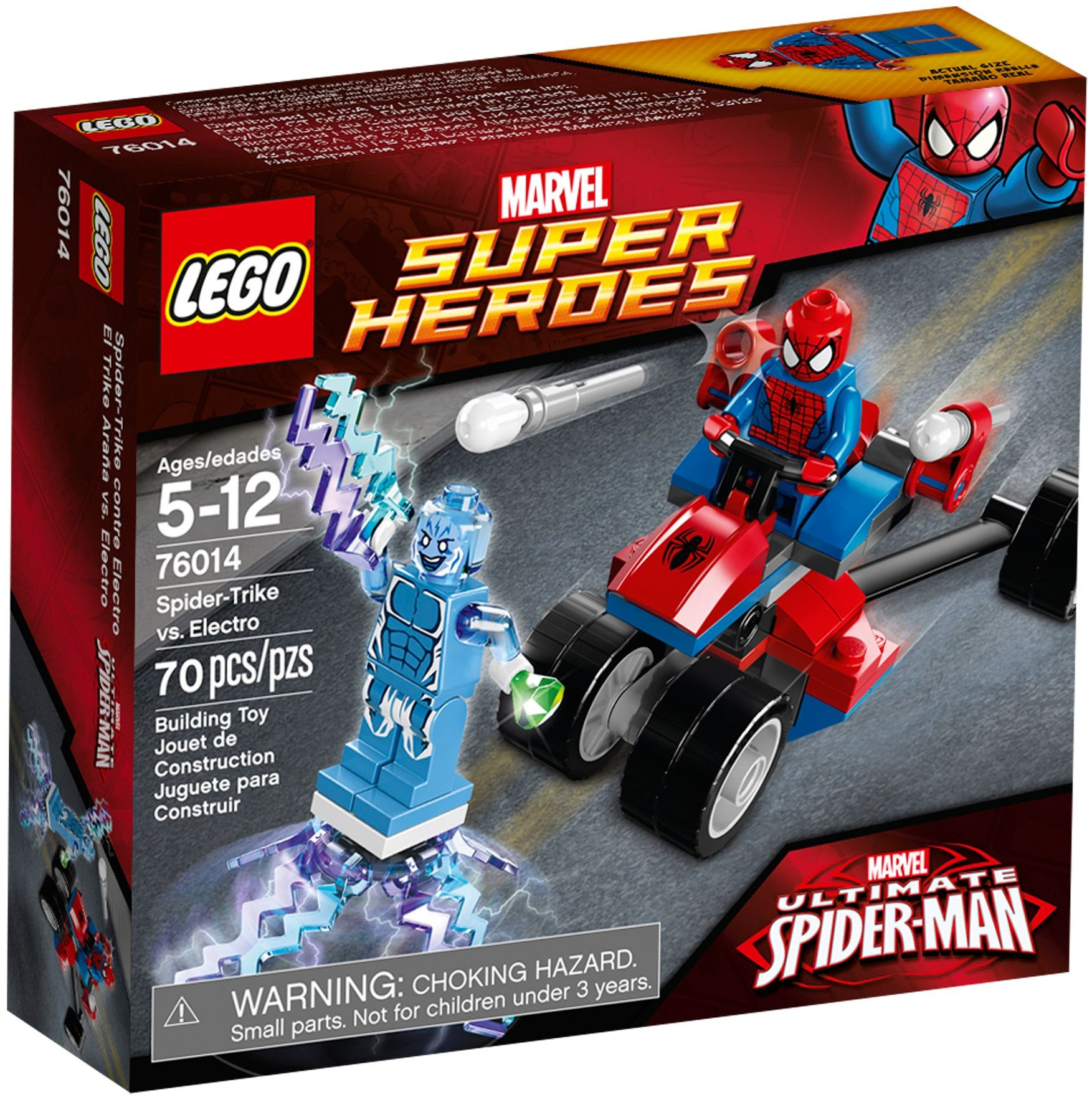 LEGO 76014 - Super Heroes - Spider-Trike vs. Electro