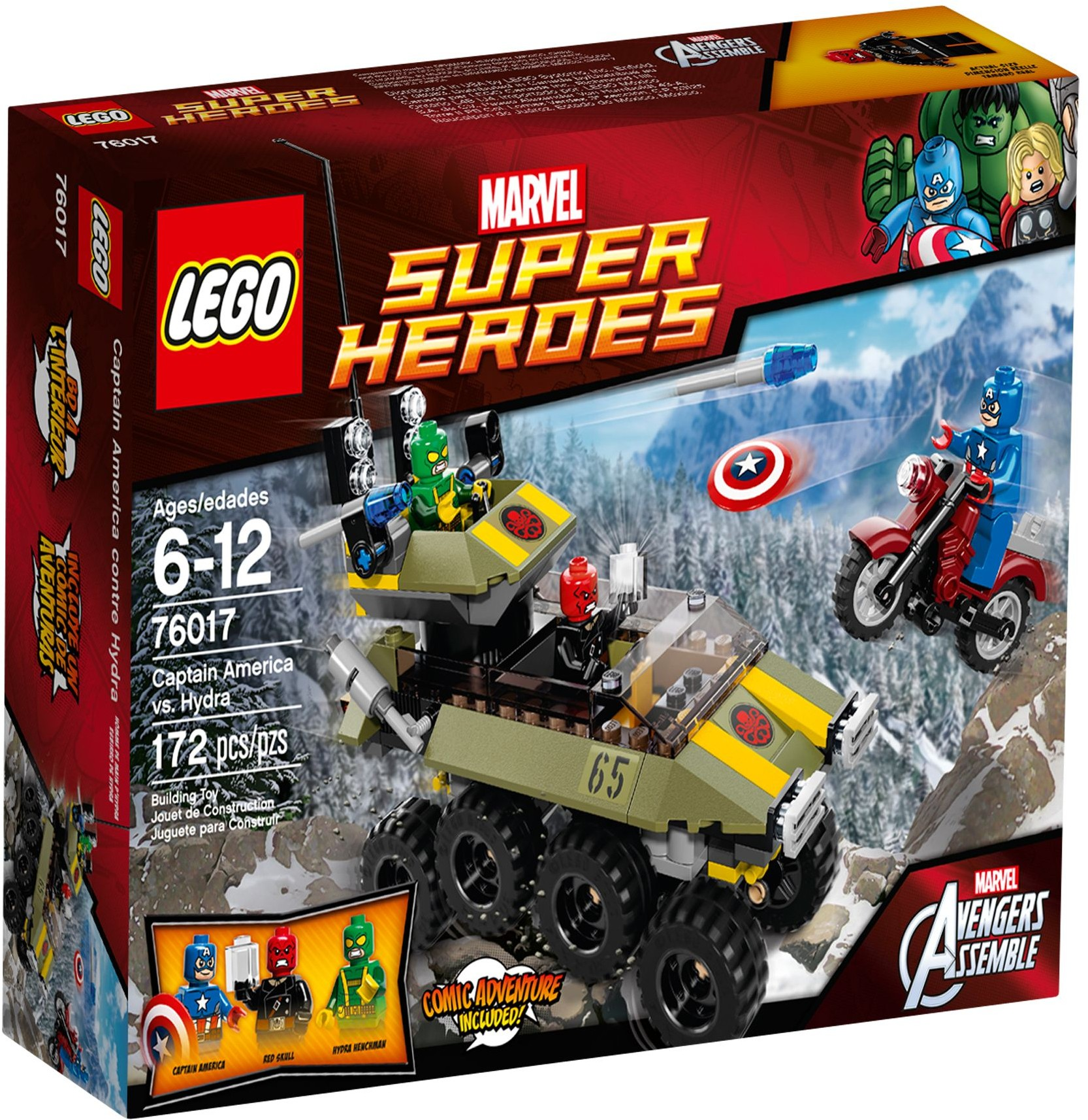 LEGO 76017 - Super Heroes - Avengers: Captain America vs. Hydra