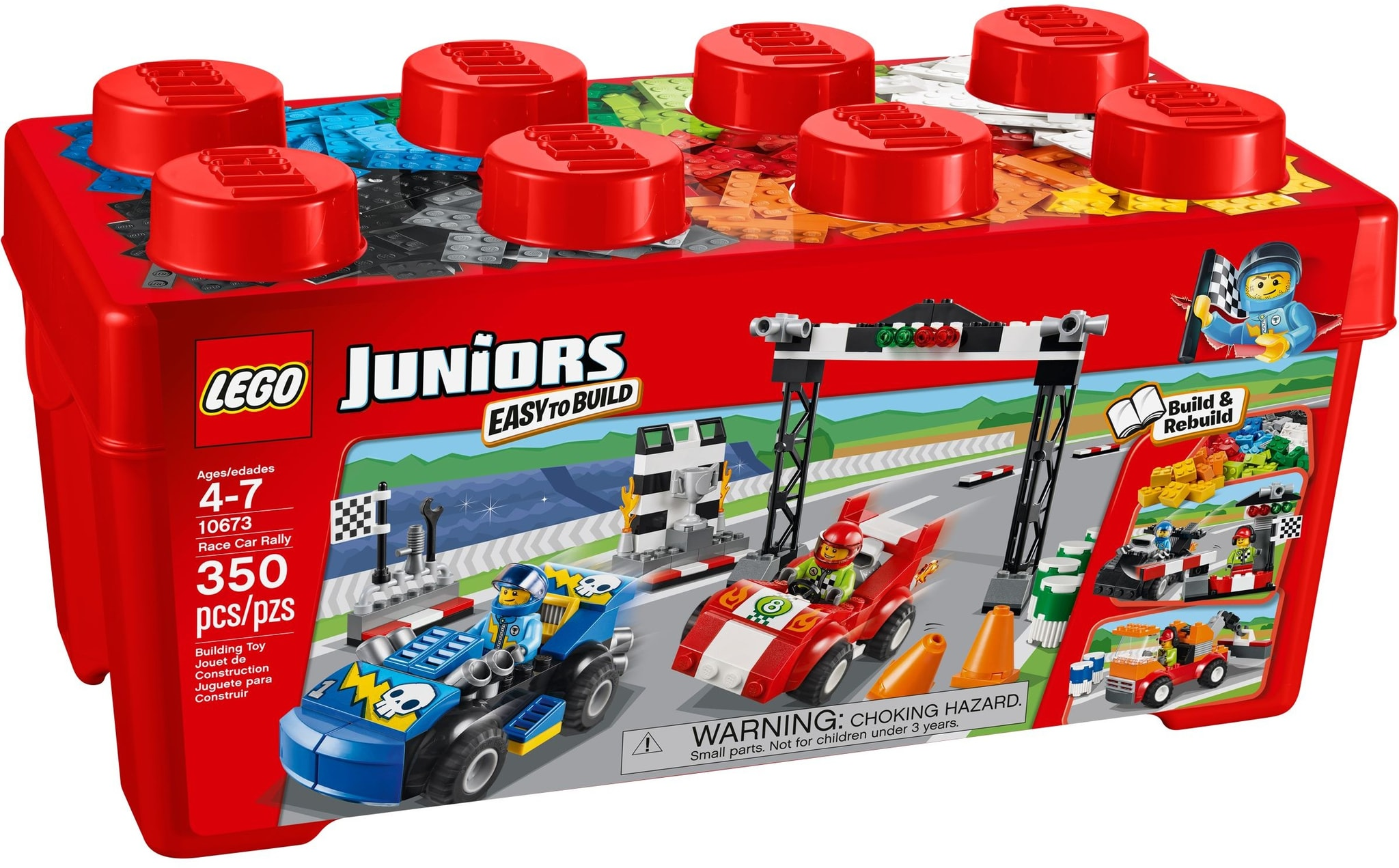 LEGO 10673 - Juniors - Race Car Rally