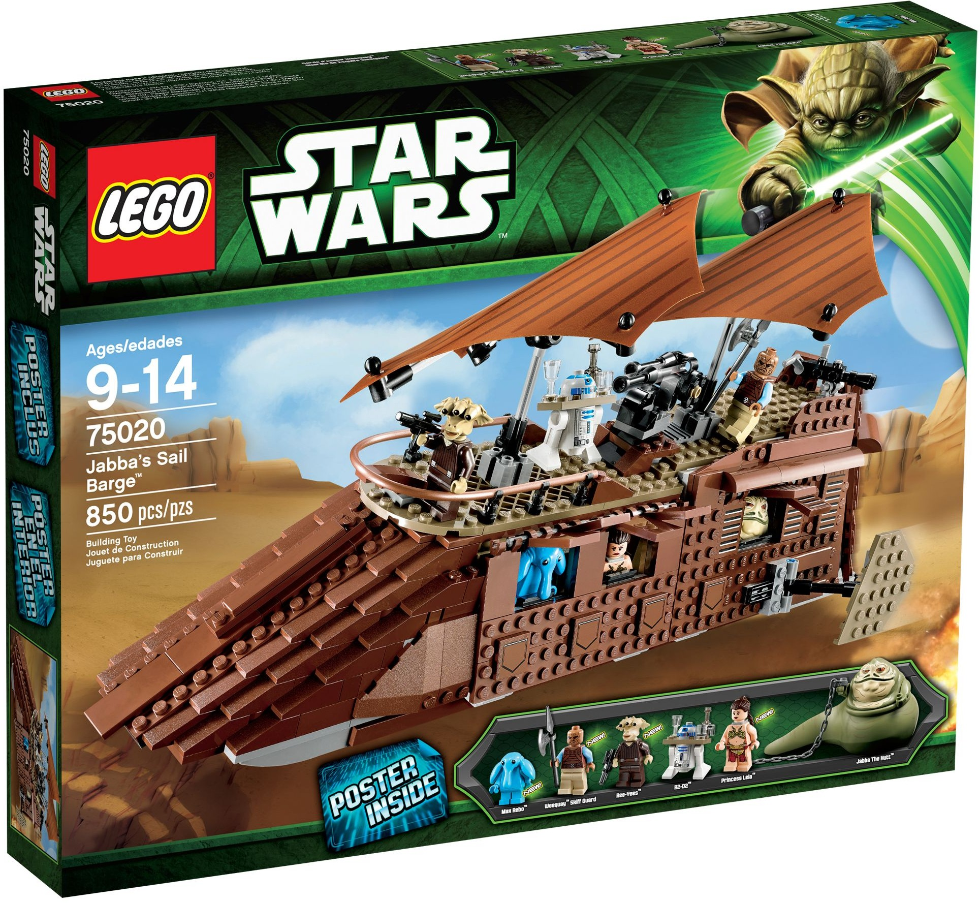 LEGO 75020 - Star Wars - Jabba's Sail Barge