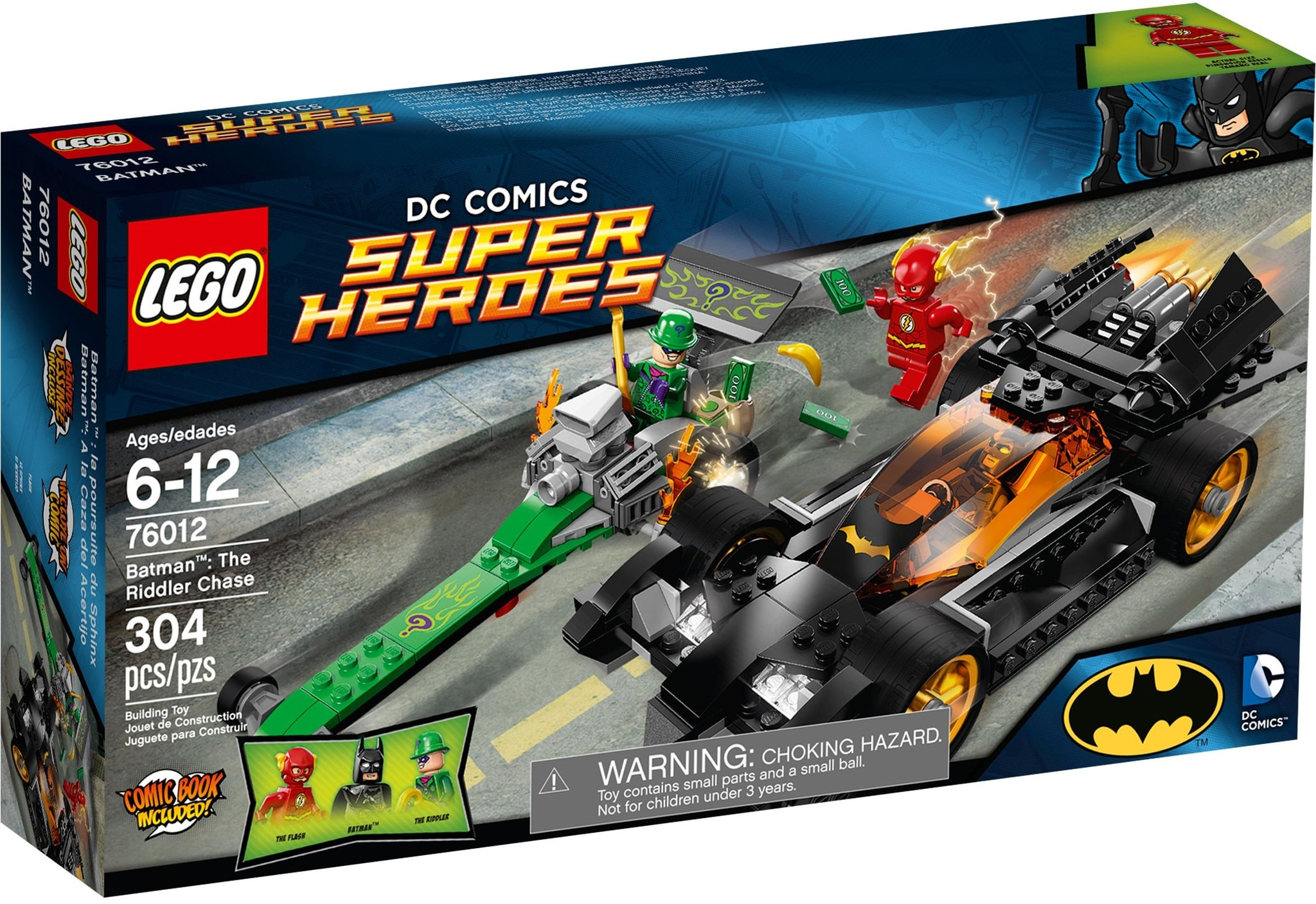 LEGO 76012 - Super Heroes - Batman: The Riddler Chase