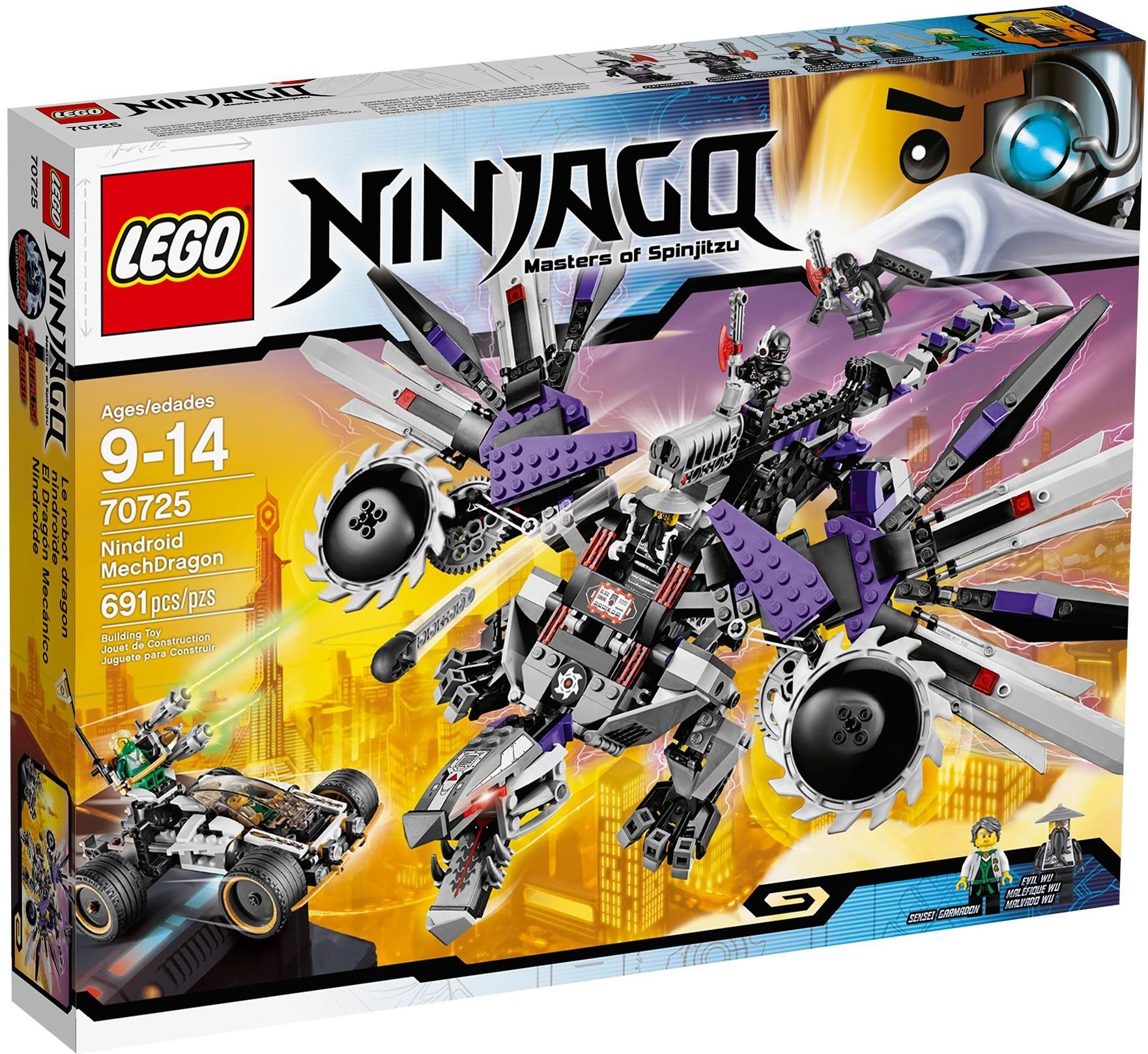 LEGO 70725 - Ninjago - Nindroid MechDragon