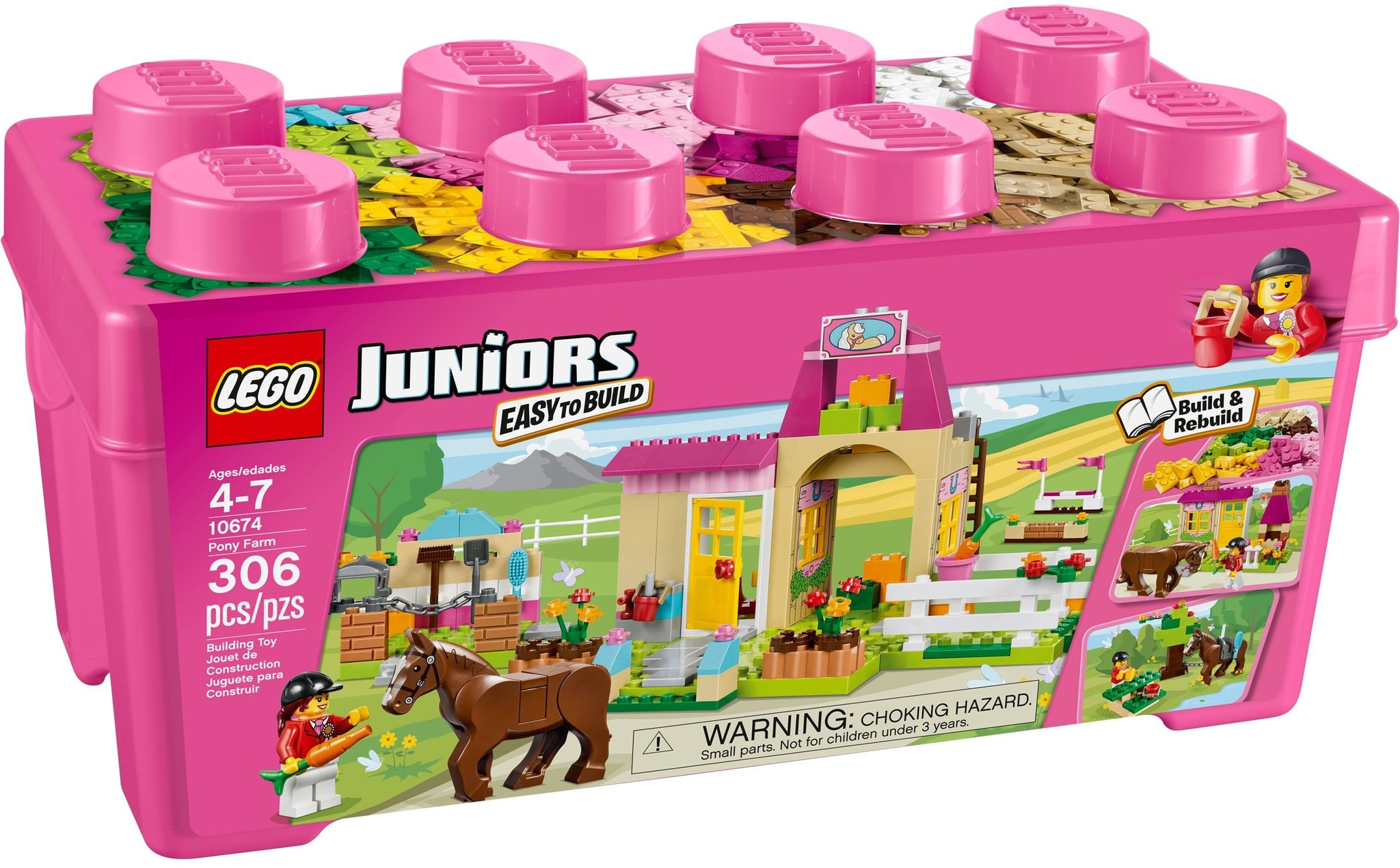 LEGO 10674 - Juniors - Pony Farm