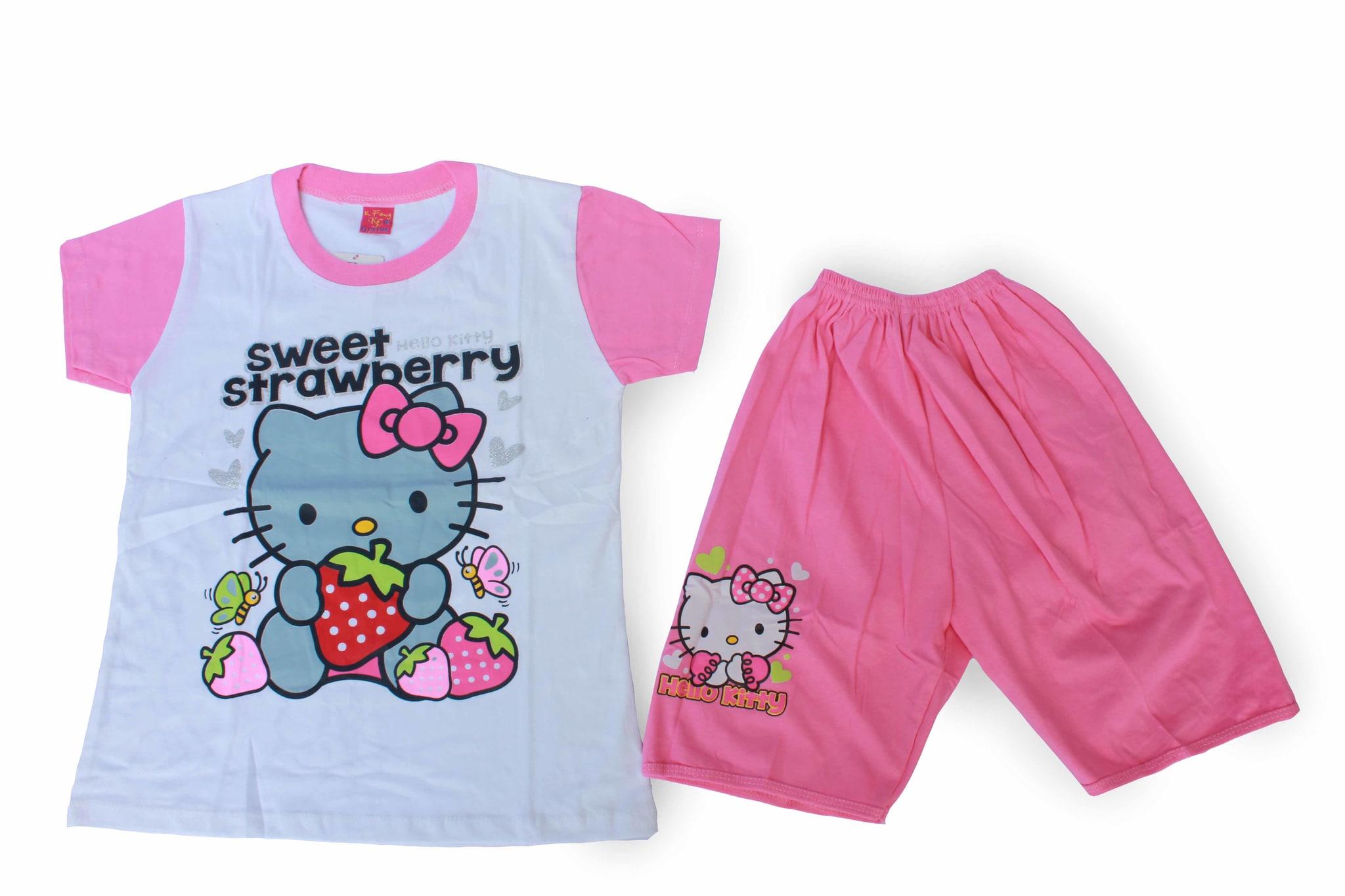 Baju Setelan Anak Perempuan Murah - Pony SAC - B