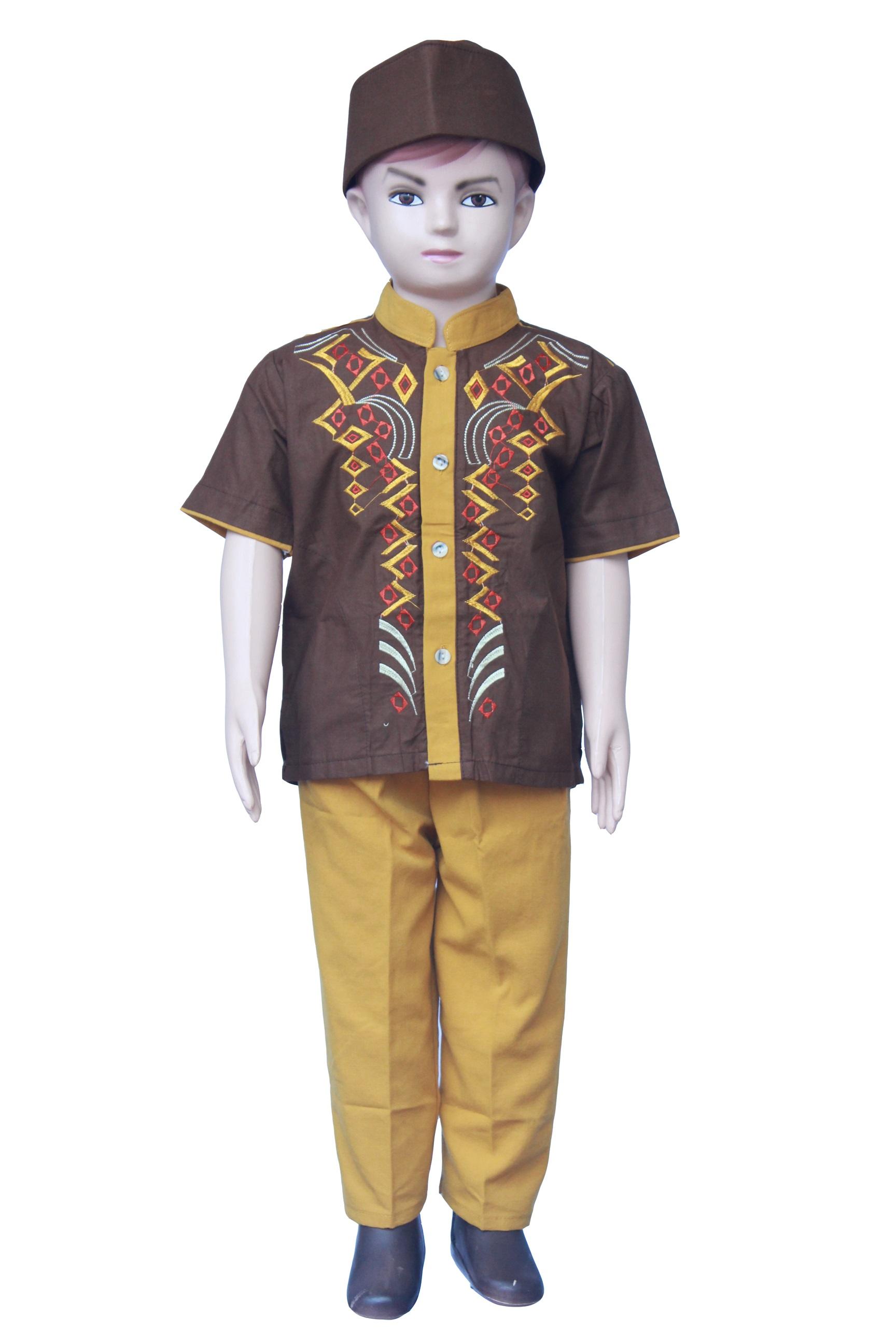 Setelan Baju Koko Anak Laki Laki Terbaru - KOKO B (2 - 3 tahun)