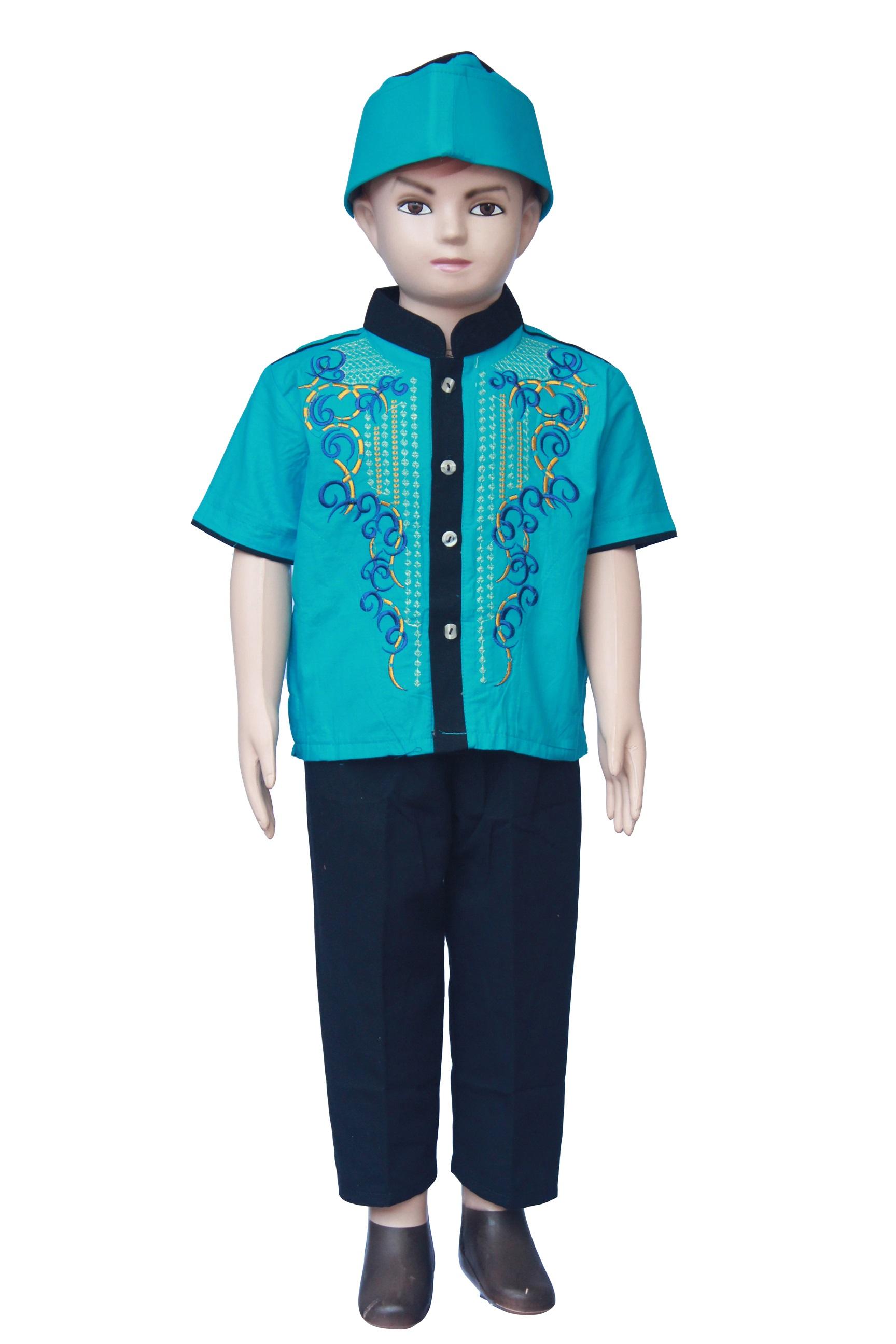 Setelan Baju Koko Anak Laki Laki Terbaru - KOKO A