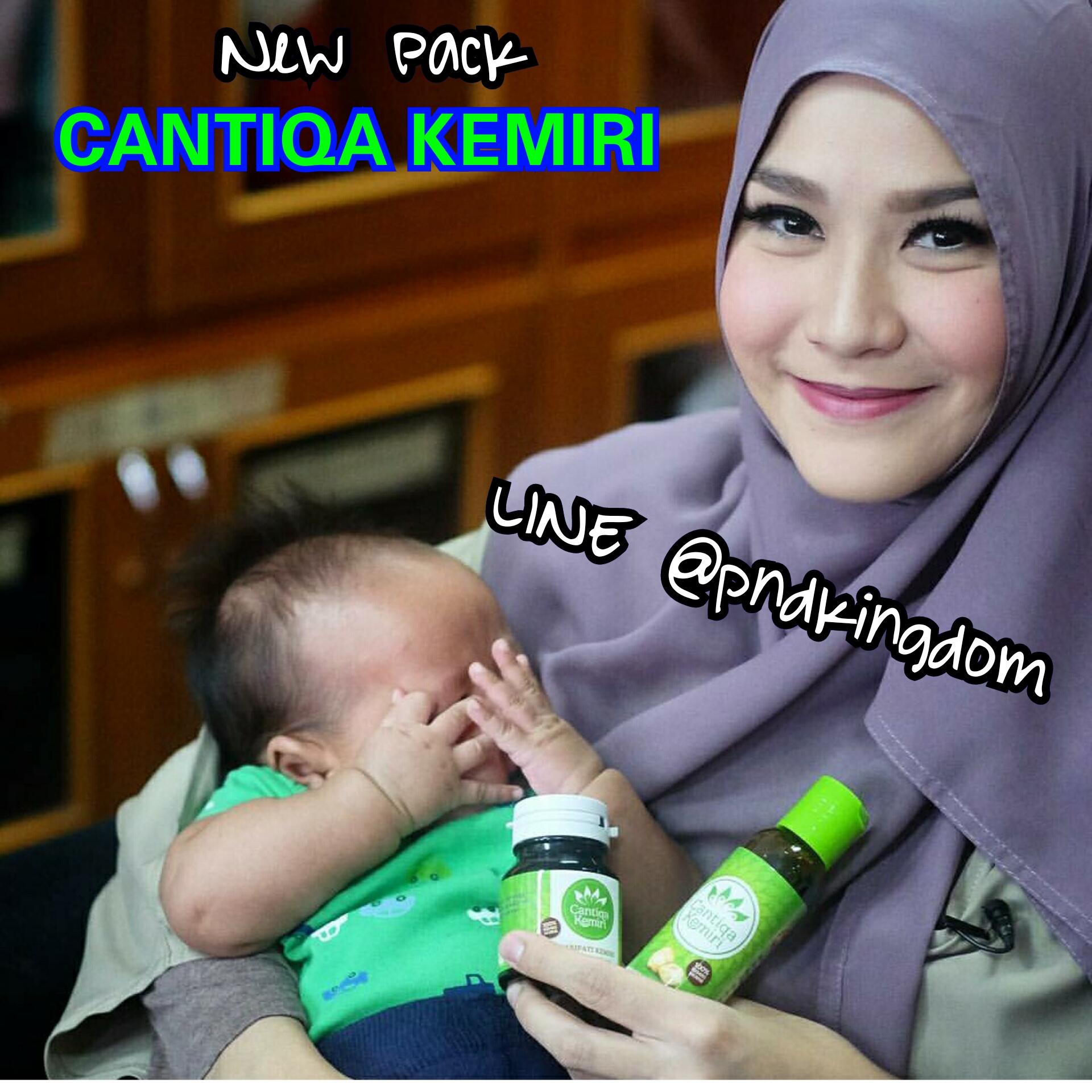 (Best Seller) Penyubur Rambut Herbal Cantiqa Kemiri  - Blanja.com