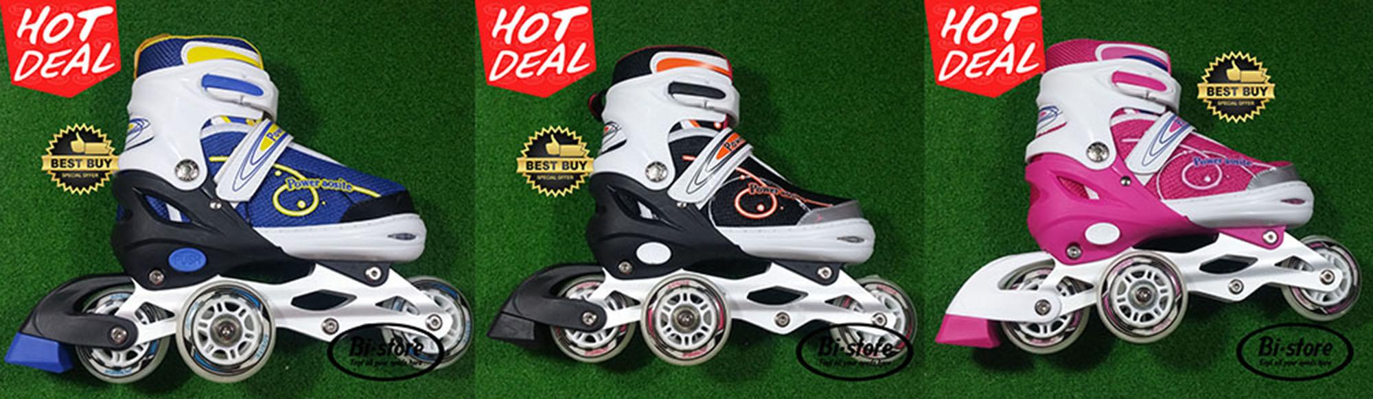 Jual Sepatu Roda Inline Power Aosite 8000 Ban Karet Jahit + Baut ... 372e2fe569