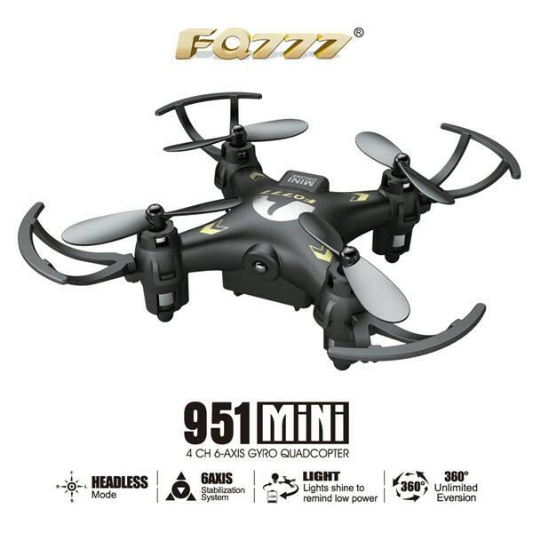 FQ777-951 nano Drone with camera+Headless Mode