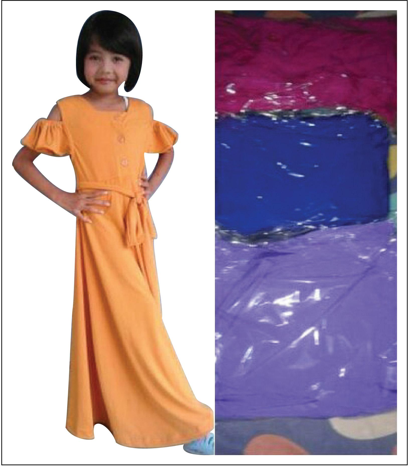 Harga Dress Pesta Anak Warna Ungu Pita Baju Princess