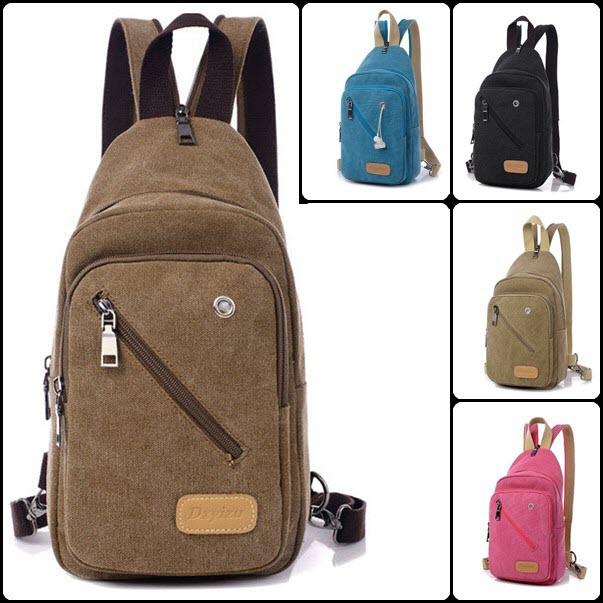 harga Ba008 Tas Sling Bag + Backpack 2 In 1 Dxy Pria Wanita Tas Import Gaya Blanja.com