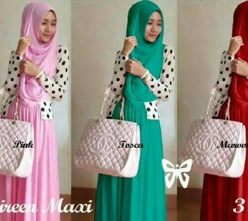 Maxi Shireen Hijab PTM