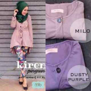 Baju Atasan Wanita/Blouse Cewe/Kiren Jersey/Baju Kantor/Hijab Modern