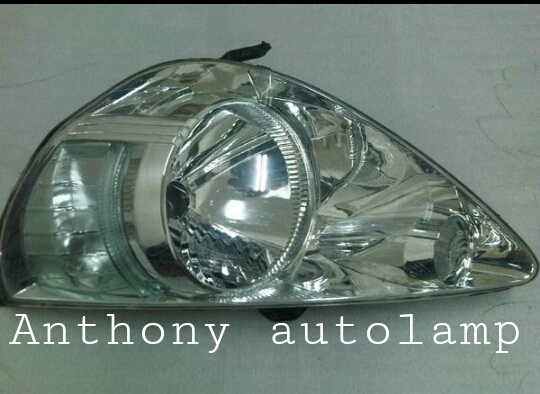 Headlamp Honda Jazz Kristal