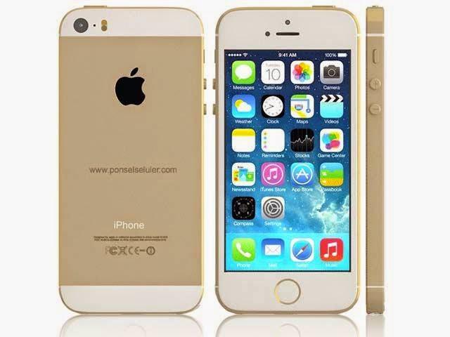 APPLE IPHONE 5S 32GB GOLD GARANSI INTERNASIONAL Harga