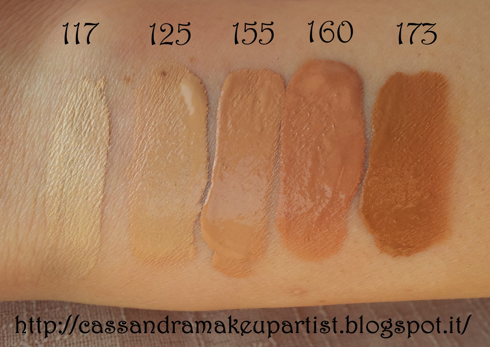 Makeup Forever Hd Foundation 120 Vs 125