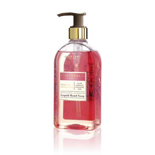 Hand Soap Essense&Co. Rose & Sandalwood Liquid