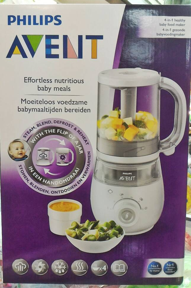 Jual Philips Avent 4 In 1 Healthy Baby Food Maker Steam