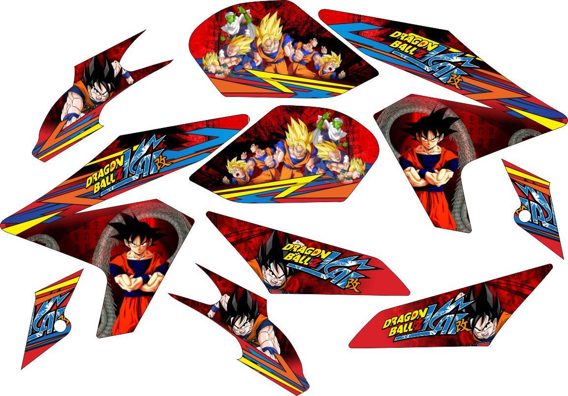 Sticker Vixion NVL Striping Dragonball