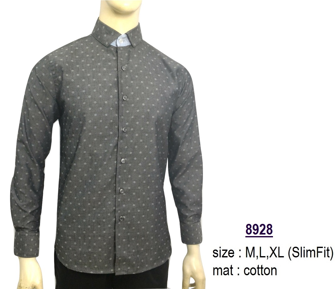 Jual Baju Kemeja Slimfit 8928 Fashion Pria Jas Kaos Jaket Jas Batik