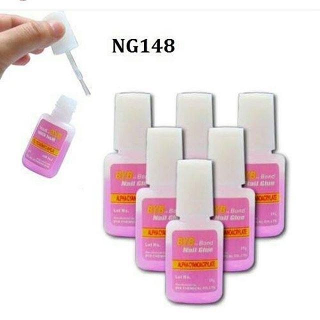 10 gram Nail Glue Brush Lem Kuku Bentuk Kuas thumbnail