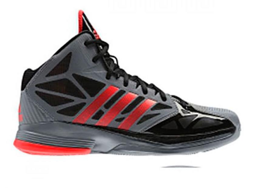 Jual Sepatu basket ADIDAS Abu-abu Hitam - Toko Adin 99  4551280740