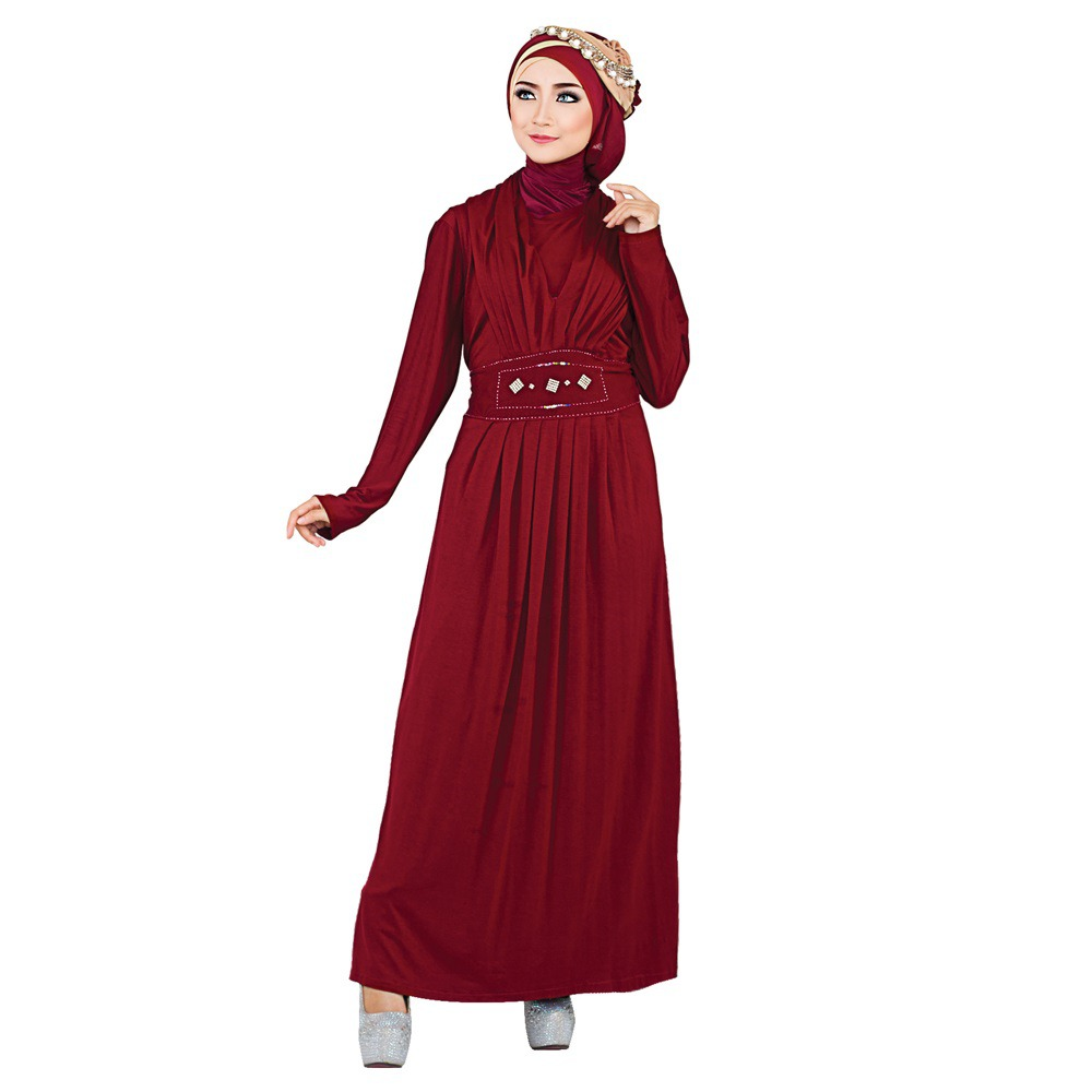 Baju Gamis Warna Merah