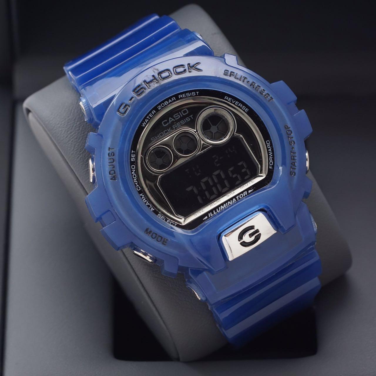 Jual Casio G Shock Dw 6900 Full Biru Gshock Dw6900 Kw Super Jam Tangan Grosiran Tokopedia