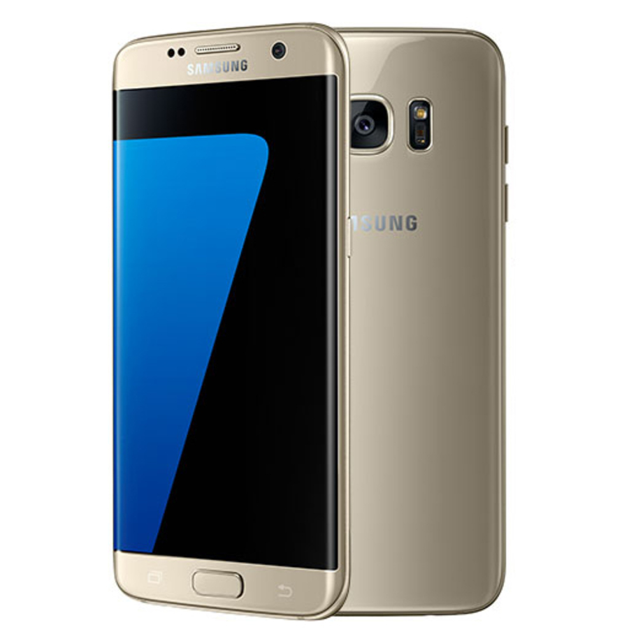 jual hot samsung galaxy s7 edge 32gb gold kios utama. Black Bedroom Furniture Sets. Home Design Ideas